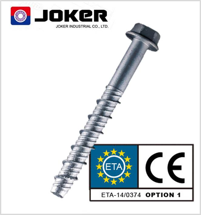 Concrete screws CE ETA